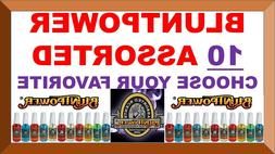 10 BluntPower 100% Concentrated Oil Based Air Fresheners Blu