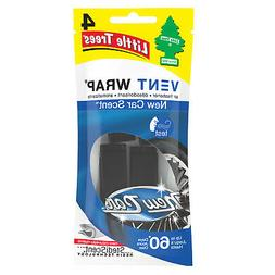 12 Little Trees Vent Wrap Car Air Freshener New Car Scent