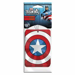 Captain America 2-Pack Vanilla Air Freshener Red