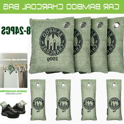 24Pack Bamboo Charcoal Activated Carbon Air Freshener Bag Ca