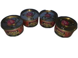 3 Cans of Air Freshener Cool Gel 2.5OZ California Scents for