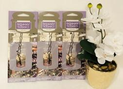 Yankee Candle CAR JAR  Air Fresheners~LAVENDER VANILLA~NEW