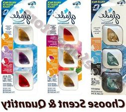 3 MultiScent Glade Vent Oil Clip Car AC Air Freshener Elimin