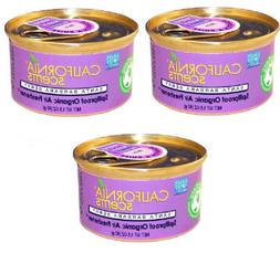 3 Pack SANTA BARBARA BERRY Can California Scents Organic Air