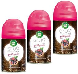 3 Air Wick Pure Automatic Spray Refill merry berry Scent Eac