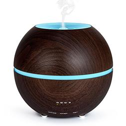 300ml Aromatherapy Essential Oil Diffuser, Ultrasonic Cool M