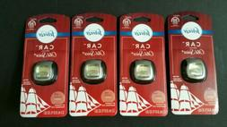 4 Febreze Auto Vent Clip Air Freshener with Old Spice 0.07 o