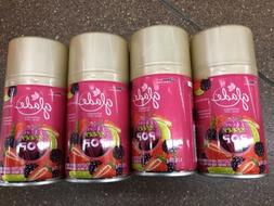 4 Glade Berry Pop Automatic Air Fresheners Limited Edition N