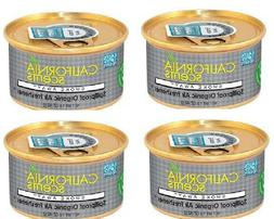 4 PACK Smoke Away California Scents Can Spillproof Organic A