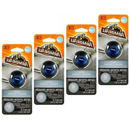4 Packs ArmorAll Vent Clip Car Air Freshener NEW CAR Scent 0