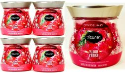4 Renuzit Pearl Scents HOLLY BERRY Red Limited Edition Air F
