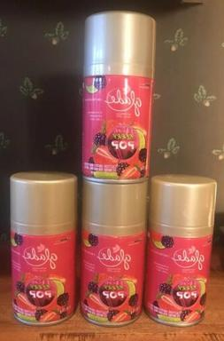 4 X GLADE LIMITED EDITION AUTOMATIC SPRAY REFILL BERRY POP