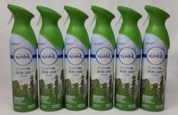 6 Febreze Air Effects BIG SUR WOODS Limited Edition Air Fres