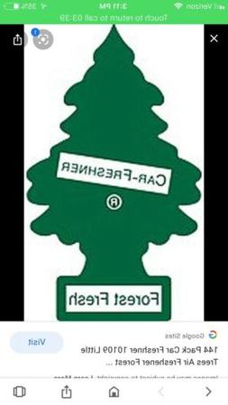 6 Little Tree Forest Fresh Air Freshners ~ Discontinued Scen