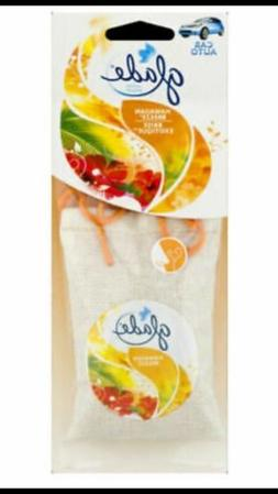 6 Pack Glade Sachet Hanging Car and Home Air Freshener, Hawa