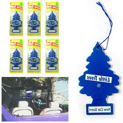 6 Pc New Car Smell Scent Little Trees Air Freshener Home Han