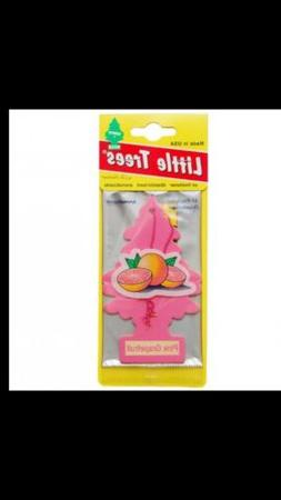 6 Little Tree Pink Grapefruit Air Fresheners ~ Discontinued