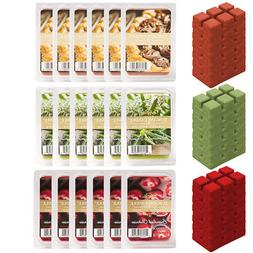 6pk Tuscany Candle Air Freshener Wax Warmer Melts Cubes For