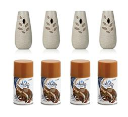 Glade Automatic Spray Air Freshener Starter Kit, Cashmere Wo