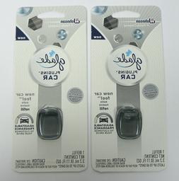 Glade PlugIns Car Air Freshener Refill, New Car Feel, 0.11 f