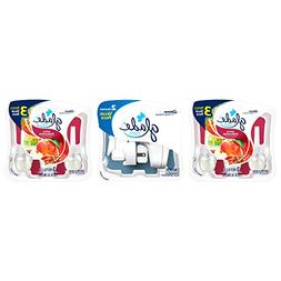 Glade PlugIns Scented Oil Air Freshener Value Pack, 2 Warmer