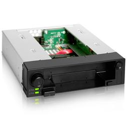 ICY DOCK DuoSwap MB971SP-B 5.25 Inch Hot Swap Drive Caddy /