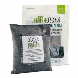 MOSO NATURAL Air Purifying Bag 3 Pack. Bamboo Charcoal Air F