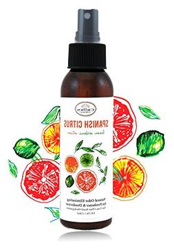 NATURAL Room Deodorizer Spray Air Freshener  | Lemon Citrus