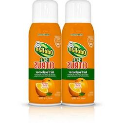 OdoBan Real Citrus Air Freshener, Orange