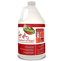 OdoBan 977362-G Air Cherry Liquid Air Freshener, 1 Gallon Bo