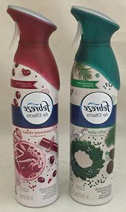 Febreze Air Effects Air Freshener 9.7oz Cans Assorted Scents