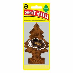 Little Trees Air Freshener Leather Scent. 1 pack, 6 air fres