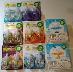 Air Wick Air Freshener Plugins Essential Oils Various Scents