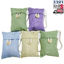 Air Purifying Bag 5 Pack Nature Fresh Style Charcoal Bamboo