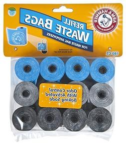 Arm & Hammer 71040 Disposable Waste Bag Refills, Assorted, 1