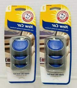 ARM & HAMMER AH8500NEC Under the Seat Air Freshener, New Car
