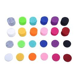 HOUSWEETY 60pcs Aromatherapy Diffuser Round Refill Pads - 12