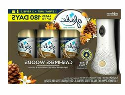 Glade Automatic Spray Air Freshener 1 Holder + 3 Refills, Ca