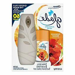 Glade Automatic Spray Air Freshener Starter Kit, Hawaiian Br