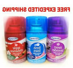 Homebright Automatic Spray Air Fresheners 4.5oz. Scented 6 P