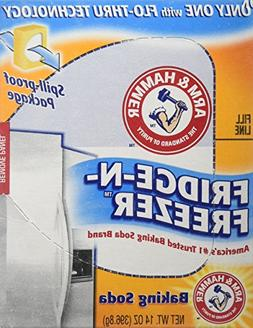 Arm & Hammer Baking Soda, Fridge-N-Freezer Pack, Odor Absorb