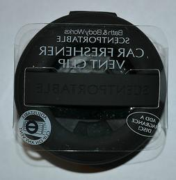 BATH BODY WORKS BLACK RUBBER SCENTPORTABLE HOLDER VENT CLIP