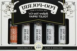 Poo-Pourri Before You Go Toilet Spray In A Pinch 5 Pack 4ml
