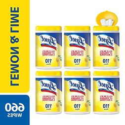 Lysol Disinfecting Wipes, Lemon & Lime Blossom, 660ct