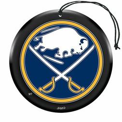 Buffalo Sabres Puck Air Freshener Nu Car Scent 3 Pack Car Tr