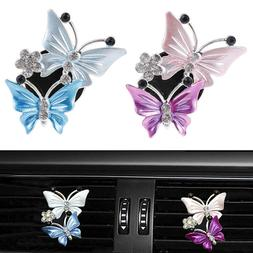 Butterfly Air Freshener Clip Car Perfume Vent Outlet Fragran
