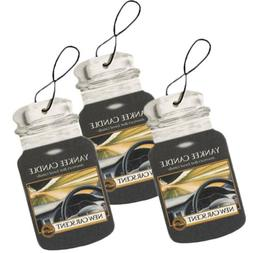 Yankee Candle Car Jar Hanging Air Freshener New Car Scent