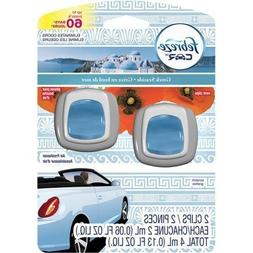 Febreze Car Vent Clips Greek Seaside Air Freshener, 0.06 fl