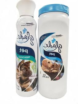 GLADE Carpet & Room Deep Odor Eliminator + Air Spray - Pet C