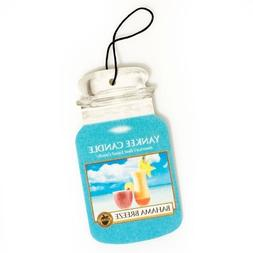 Yankee Candle Classic Paper Car Jar Hanging Air Freshener, B
